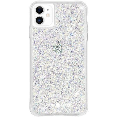 Case-Mate - iPhone 11 Case - Twinkle - Reflective Foil Elements - 6.1 - Stardust