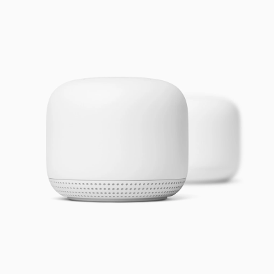 Google - Nest Wifi AC2200 Mesh System Router and Point
